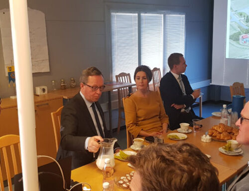 Valtionvarainministeri Mika Lintilä: Kokemäen Lämpö loistava esimerkki miten ilmastonmuutosta ehkäistään